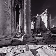 "photo ""Bacchus Temple, Baalbek"""