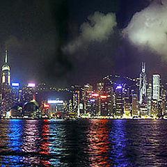 """photo """"Waterfront,HongKong"""""""
