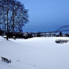 """фото """"Winter in Fredrikstad"""""""