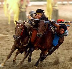 "photo ""Mongolian Horsemen"""