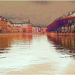 "photo ""Fontanka-river. St. Petersbourg"""