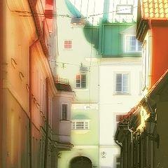 "photo ""Metamorphosis of the old city"""