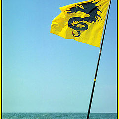 "photo ""Yellow flag"""