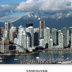 "photo ""Vancouver Sight from height of the bird`s flight 3"""