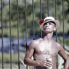 "photo ""Sabastio. Brazilian carnival 2002."""