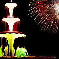 "фото ""Fountain Fireworks"""