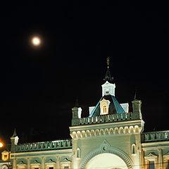 """фото """"Ночь. Москва"""""""