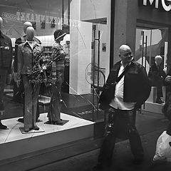 "photo ""Men & Mannequins (From the series)"""