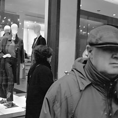 "photo ""Men & Mannequins (from the series) II"""