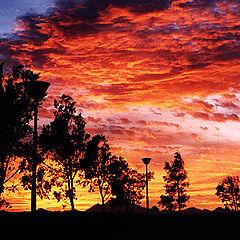 "фото ""Sky Inferno"""