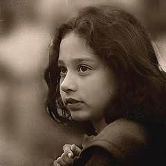 "photo ""THE LITTLE GYPSY GIRL"""