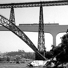 """фото """"Oporto bridges"""""""
