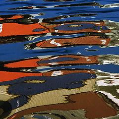 "фото ""Brushstrokes in the sea...  #1"""