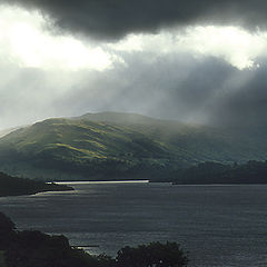 "photo ""Storm Clouds: Loch Tay"""