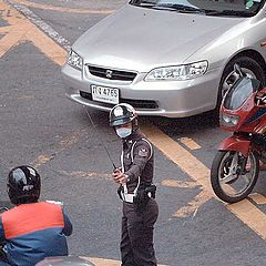 """фото """"Traffic, Bangkok"""""""