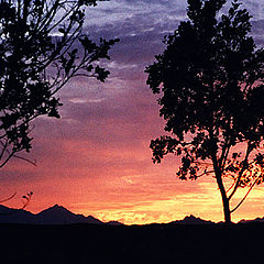 "photo ""Sunset over Hurgada"""