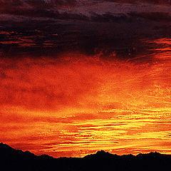 "photo ""Sky Inferno # 3"""