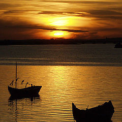 """photo """"Small boats"""""""