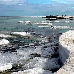 "фото ""Лёд на Ладоге-3 (""Стёкла"")"""