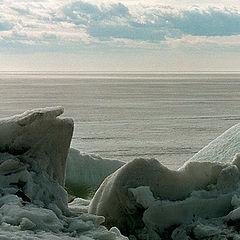"""фото """"Опять про лёд на заливе"""""""
