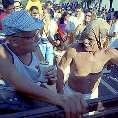 "photo ""Bento & Pedro. Ipanimians. Brazilian carnival 2002"""