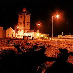 "фото ""Night Walk in the Lighthouse"""