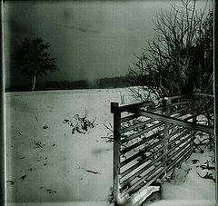"""photo """"Legend  Under snow the grounds № 2 """"Silence of sin"""""""