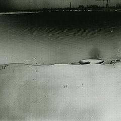"photo ""Legend  Under snow the grounds № 3 ""Border"""""