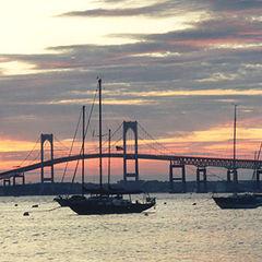 "фото ""Sunset in Newport, RI"""