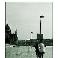 "фото ""Будапешт. Разлив Дуная."""