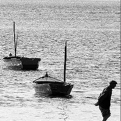 """photo """"Old fisherman"""""""