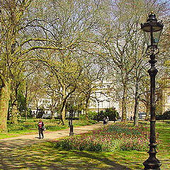 "фото ""Springtime in Green Park No. 2"""