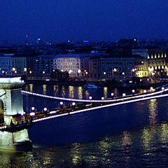 """фото """"Classical Budapest. Chain Bridge."""""""