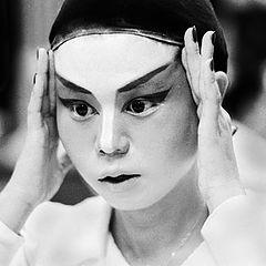 "фото ""Chinese Opera Dressing room #1"""