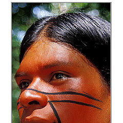 "фото ""Auoi  Indian (Red Face)"""