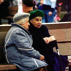"фото ""Две сестры (Мои старики)"""