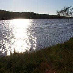 "photo ""Sun on Greenough River"""