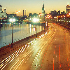 """photo """"Moscow lights"""""""