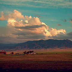 """фото """"Вечер. Облака"""""""