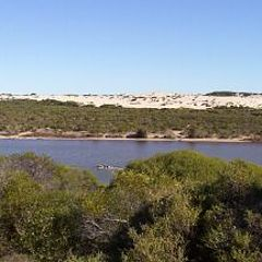 "photo ""Greenough River, Western Aust."""