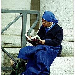 """фото """"Lady in blue. Vatican`s people."""""""