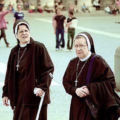 "фото ""Монашки.Vatican`s people."""