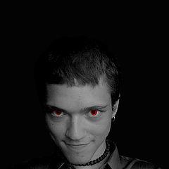 "photo ""Red eyed (smile:)"""