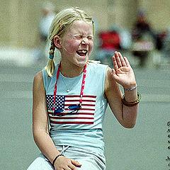 """фото """"Смешливая девчушка."""""""
