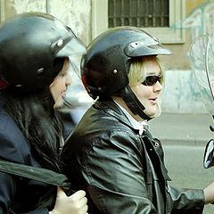 """фото """"Итальянские байкерши."""""""