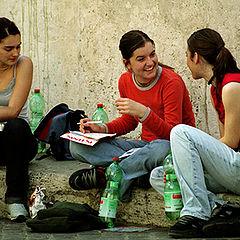 "фото ""Italian teenagers."""