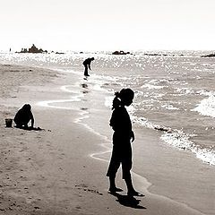 """photo """"The girl and the sea"""""""