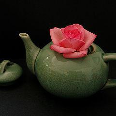 "фото ""Rose In A Teapot"""