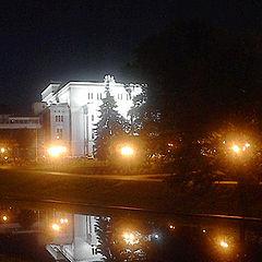 "фото ""Opera House at Night"""