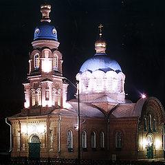 """фото """"Ночью церковь старая пуста..."""""""